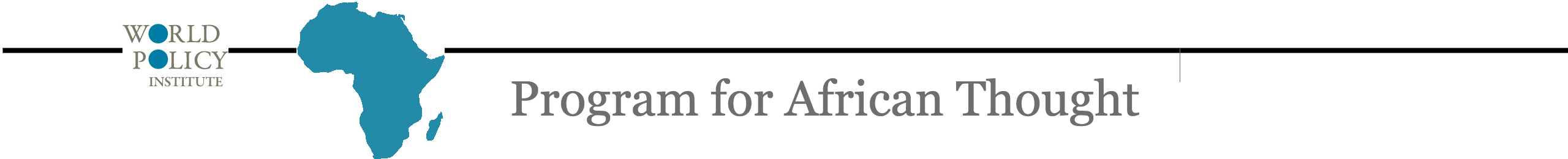 Program for African Thought